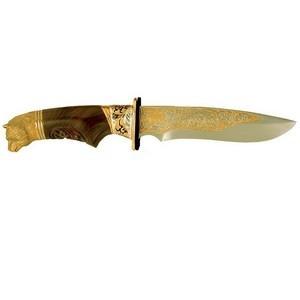 Нож украшенный (литье)