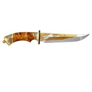 Нож украшенный (золотые колпачки)