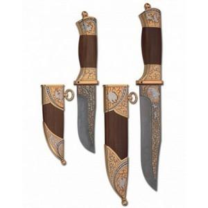 Ножи охотничьи парные (арт.nu215)