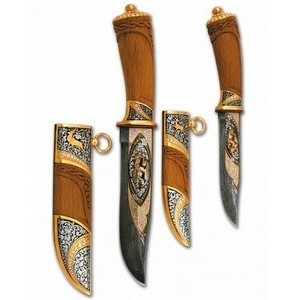 Ножи охотничьи парные (арт.nu219)