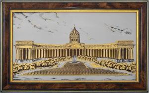 Санкт-Петербург. Казанский собор (в раме)