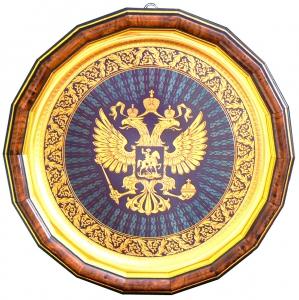 Герб России (в раме)