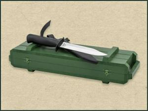 Черный нож (НР-40) (в футляре)
